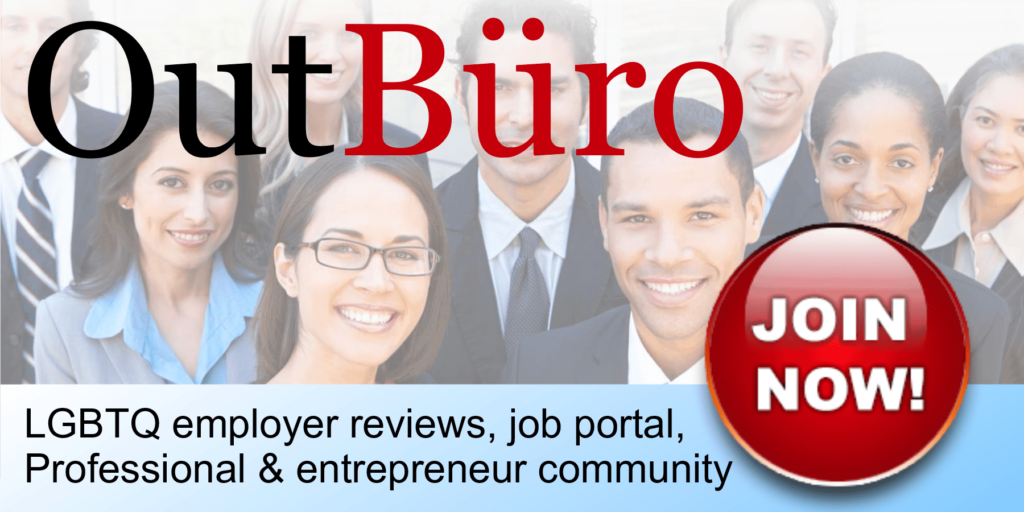OutBuro - LGBTQ employer reviews job portal professional entrepreneur community LGBT GBLT Gay Owned Lesbian Transgender Bisexual career posting resume CV