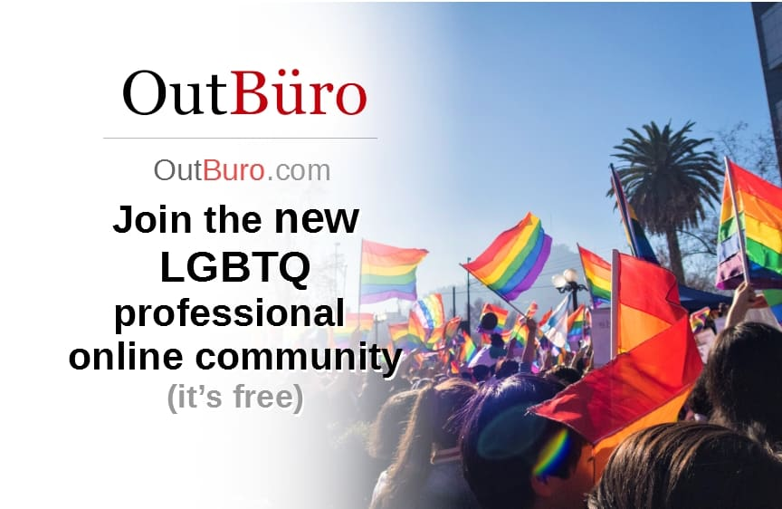Join OutBuro the LGBTQ Corporate Equality Ratings Reviews by Employees professional online community - Resume CV Profile Social Network Post LGBT Brand Monitoring Company Recruiting Diversity Inclusion