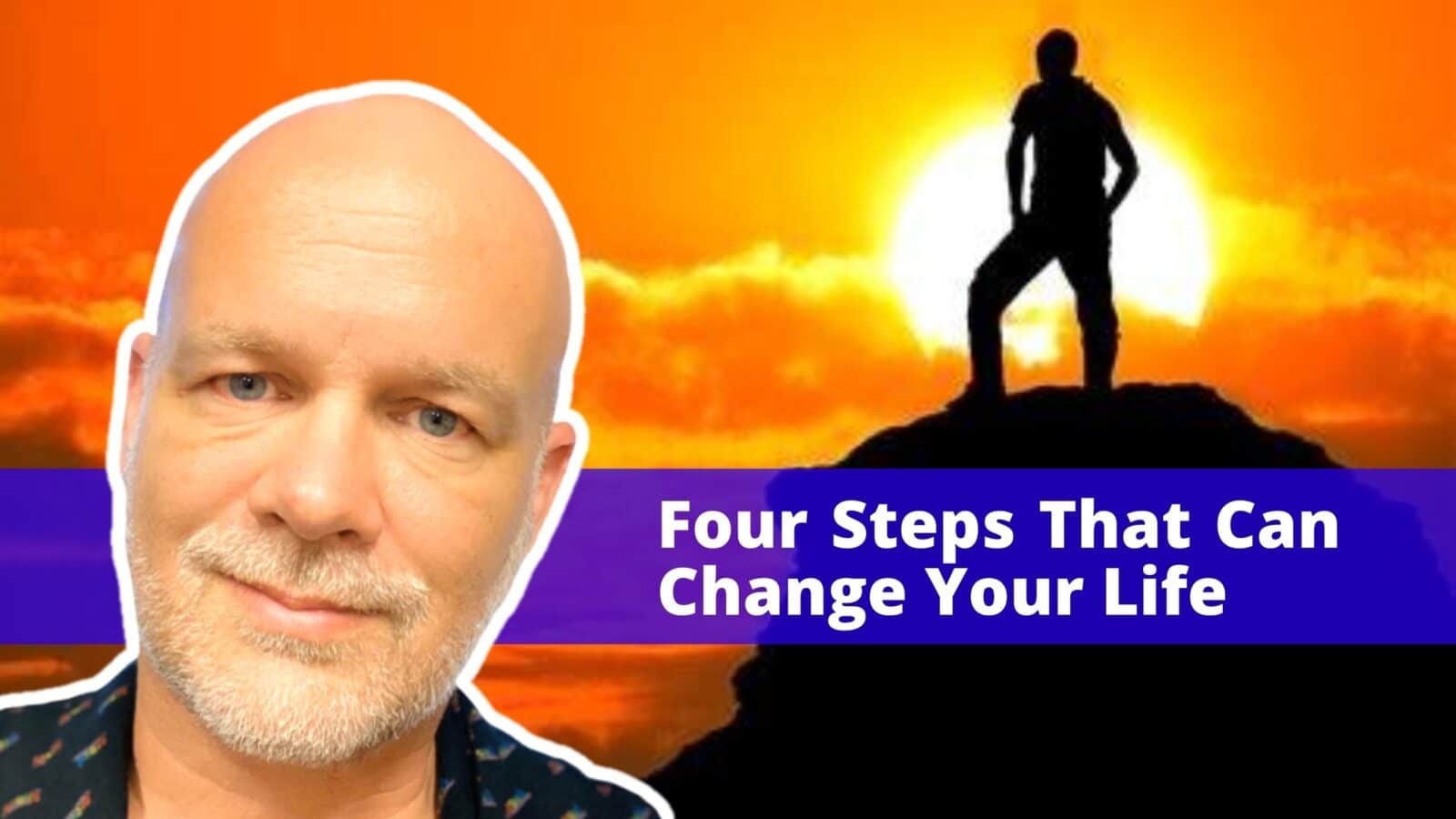 Curtis Danskin Four Steps That Can Chang Your Life lgbtq entrepreneur gay professional business owner OutBuro communit member